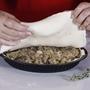 תמונה של מאפה בשר טחון עם חצילים