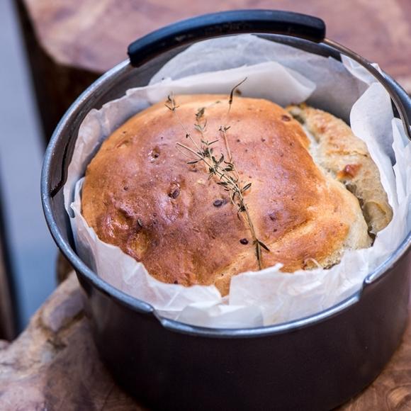 תמונה של לחם רוקפור וטימין