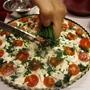 תמונה של קיש תרד, גבינות ועגבניות שרי