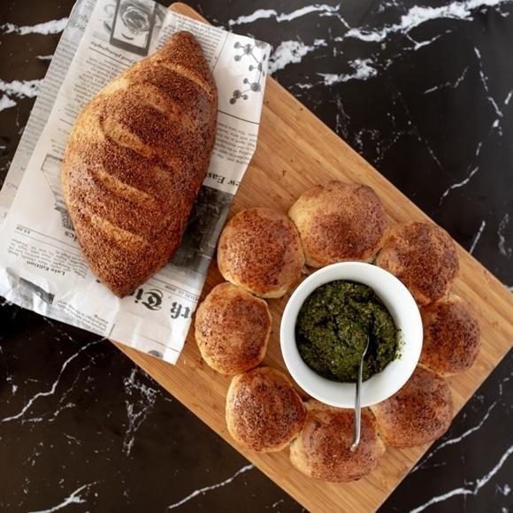 תמונה של לחם קוקוס