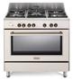 תמונה של תנור משולב כיריים בעיצוב וינטג' דגם NDS953- Delonghi